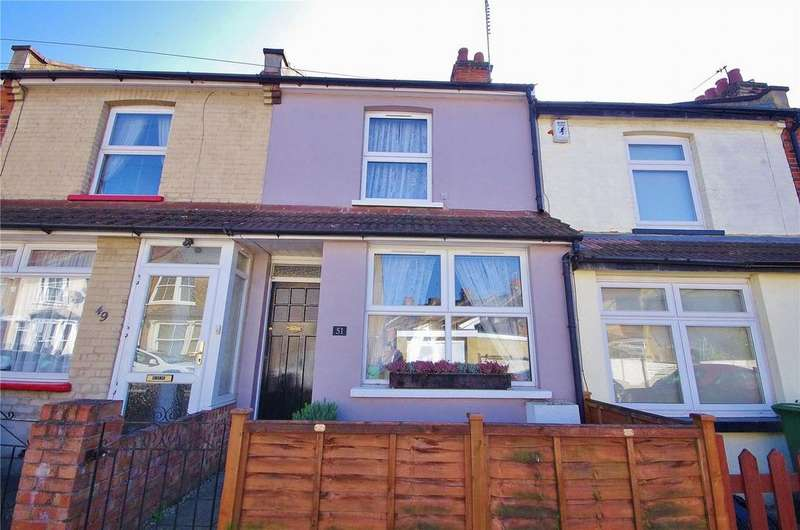 2 Bedrooms Terraced House for sale in Cardiff Road, Watford, Hertfordshire, WD18