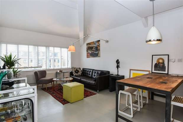 2 Bedrooms Flat for sale in Arlington Building, Bow Quarter, 60 Fairfield Road