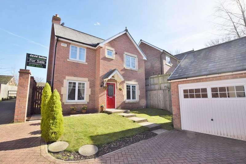 4 Bedrooms Detached House for sale in Howard Close, West Cornforth, Ferryhill