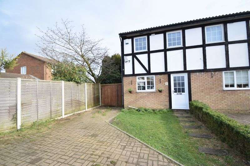 2 Bedrooms Semi Detached House for sale in Beanley Close, Luton