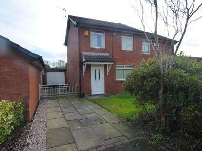 2 Bedrooms Semi Detached House for sale in Kilsyth Close, Fearnhead, Warrington, Cheshire