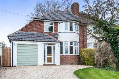 3 Bedrooms Semi Detached House for sale in Springfield Road, Sutton Coldfield, West Midlands