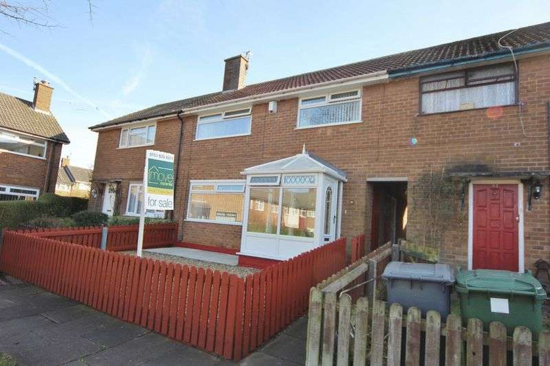 3 Bedrooms Terraced House for sale in Big Meadow Road, Woodchurch, Wirral