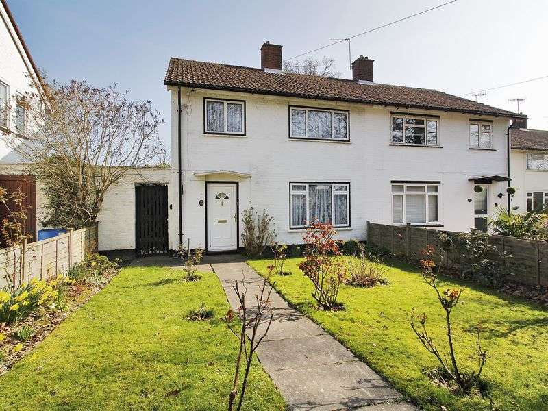 3 Bedrooms Semi Detached House for sale in The Birches, Three Bridges, Crawley, West Sussex