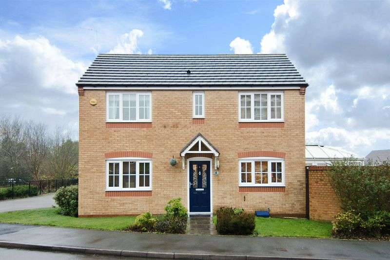 3 Bedrooms Detached House for sale in Nuthatch Close, Heath Hayes, Cannock