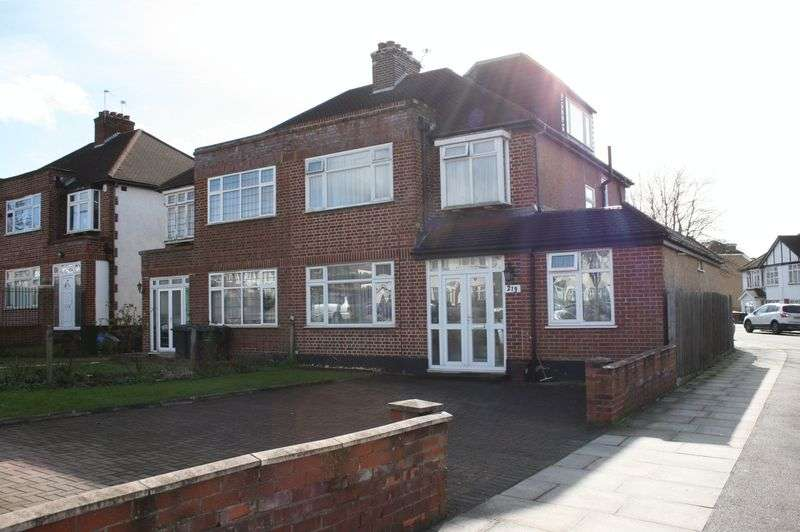 5 Bedrooms Semi Detached House for sale in 4/5 Bedroom extended home with huge potential Hale Lane, Edgware HA8