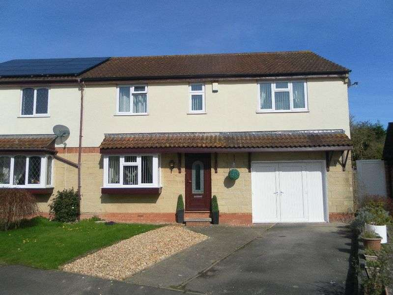 4 Bedrooms Semi Detached House for sale in Highgrove Close, Bridgwater