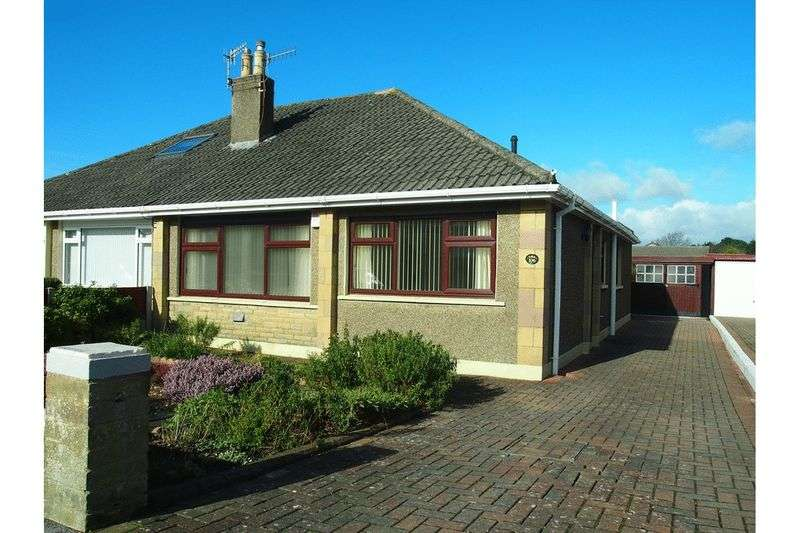2 Bedrooms Semi Detached Bungalow for sale in Fairhope Avenue, Bare, Morecambe