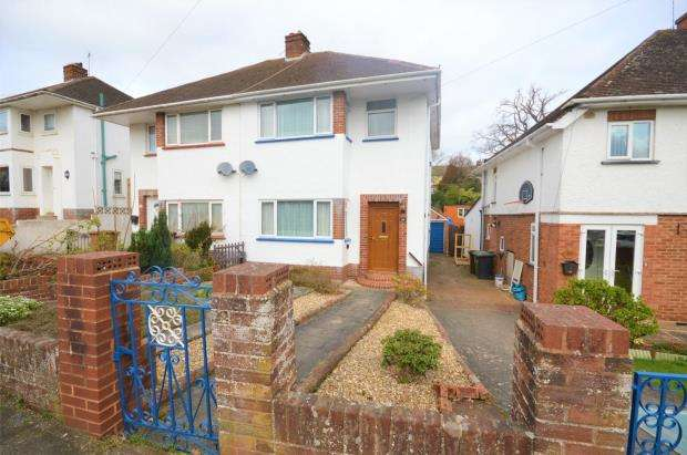 3 Bedrooms Semi Detached House for sale in Isleworth Road, Exeter, Devon