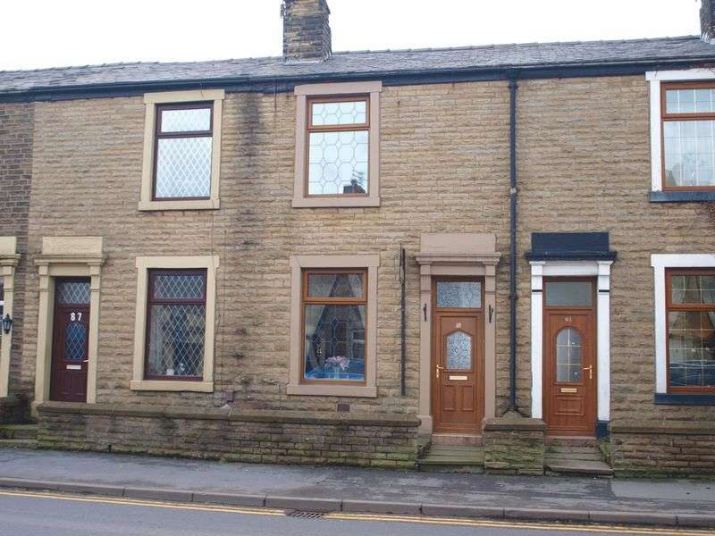 2 Bedrooms Terraced House for sale in Milnrow Road, Shaw, OL2 7TN