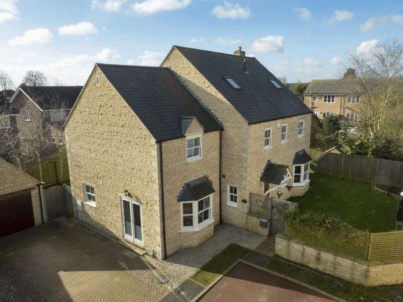5 Bedrooms Detached House for sale in Baxters Lane, Stamford