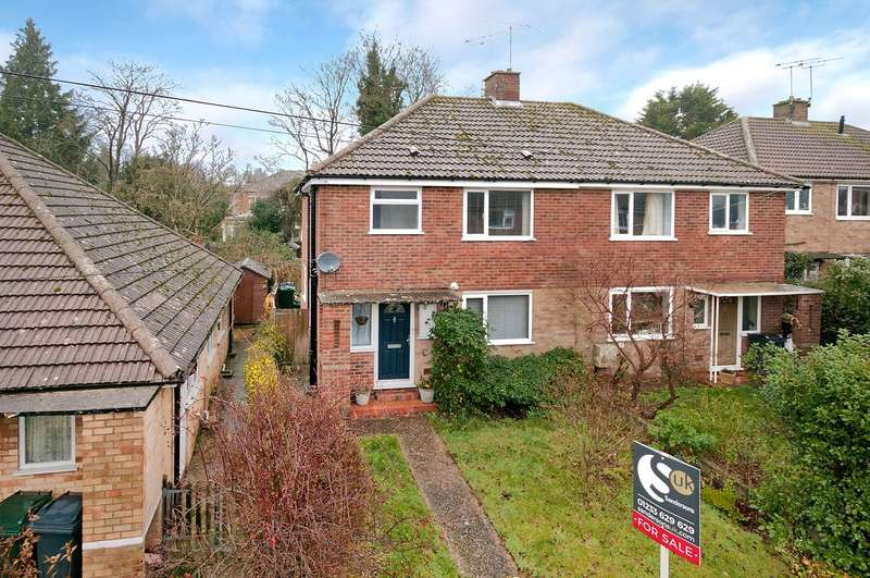 3 Bedrooms Semi Detached House for sale in The Pasture, Kennington, Ashford, TN24