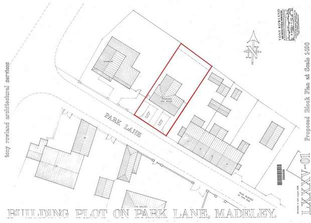 Land Commercial for sale in Building Plot on Park Lane, Madeley, Telford, Shropshire