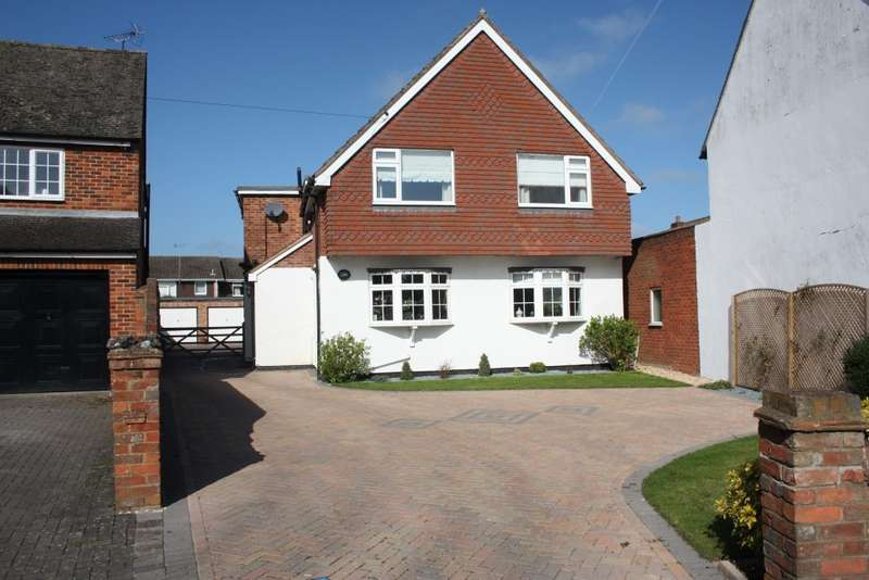 4 Bedrooms Detached House for sale in Headley Road East, Woodley, Reading, RG5