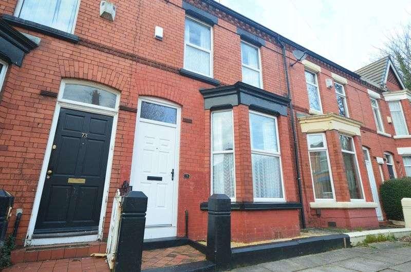 3 Bedrooms Terraced House for sale in Lidderdale Road, Wavertree