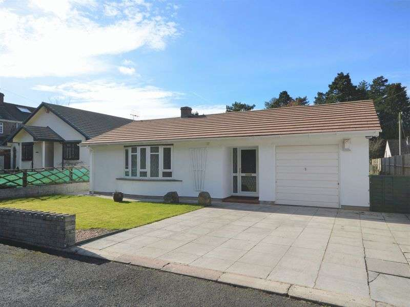 3 Bedrooms Detached Bungalow for sale in New School Road, Abergavenny