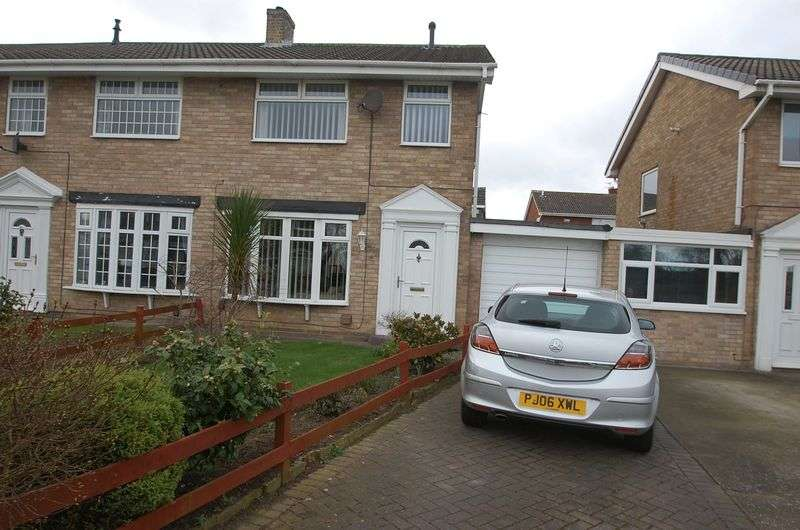 3 Bedrooms Semi Detached House for sale in Wolsingham Drive, Thornaby, Stockton-On-Tees
