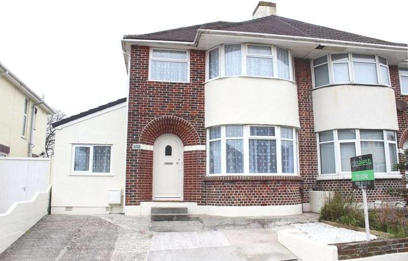 4 Bedrooms Semi Detached House for sale in 127 Churchway, Weston Mill, Plymouth