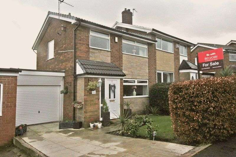 3 Bedrooms Semi Detached House for sale in Ramwells Brow, Bromley Cross