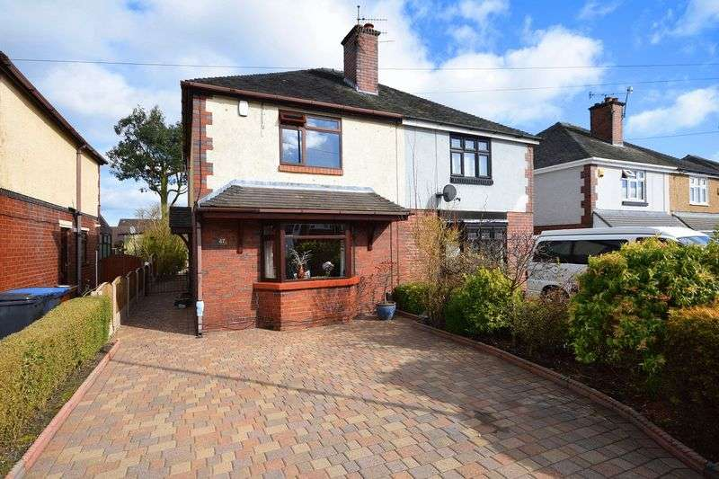 3 Bedrooms Semi Detached House for sale in Brown Lees Road, Brown Lees