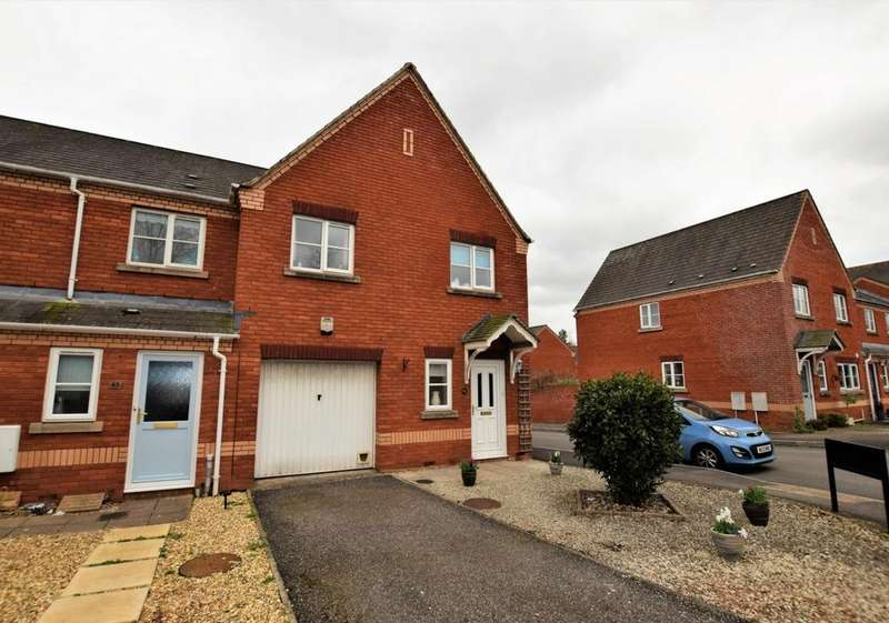 3 Bedrooms House for sale in Lewis Crescent, Exeter, EX2