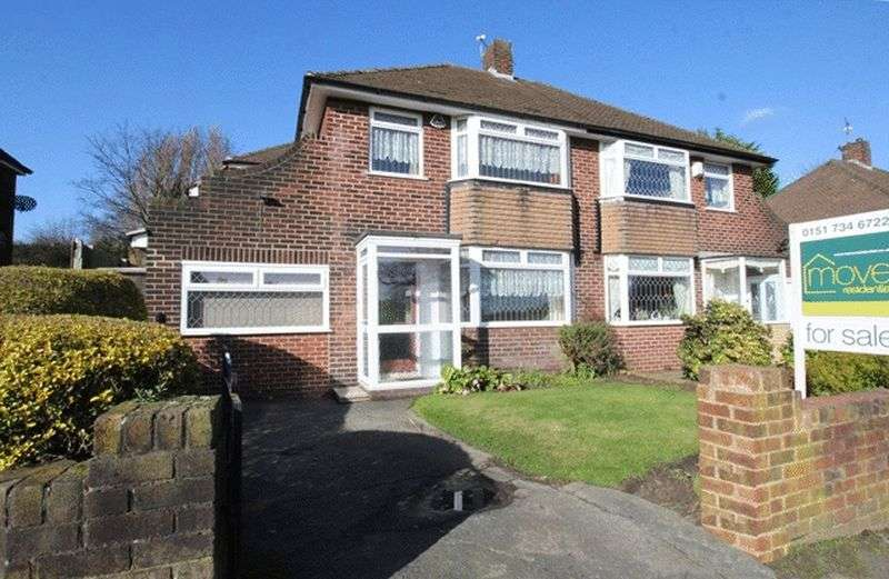 4 Bedrooms Semi Detached House for sale in Childwall Valley Road, Childwall, Liverpool, L16