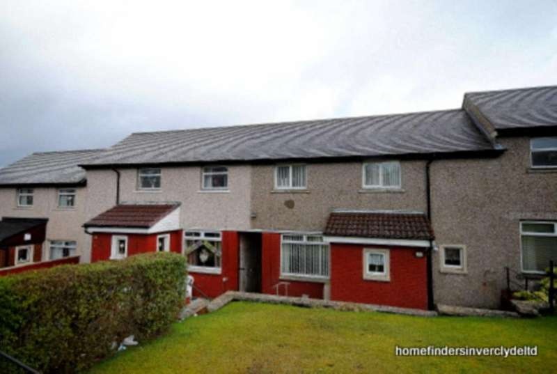 2 Bedrooms Terraced House for sale in 186 Wren Rd, Greenock
