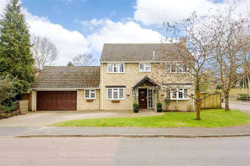 4 Bedrooms Detached House for sale in Mill Pond Road, Windlesham, Surrey