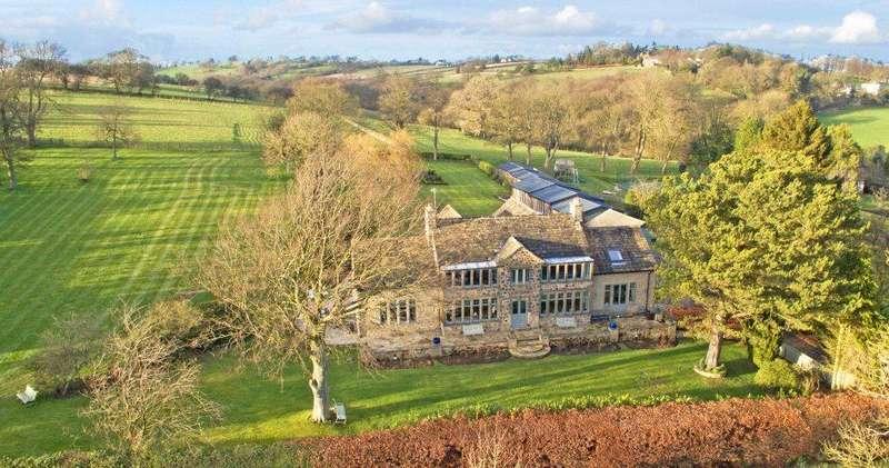 6 Bedrooms Detached House for sale in Highfield House, Burn Bridge, Harrogate, North Yorkshire, HG3