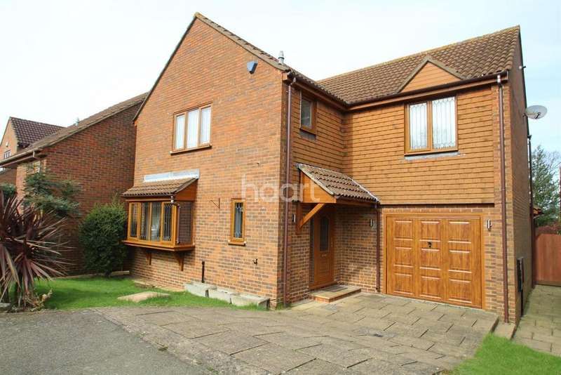 4 Bedrooms Detached House for sale in Bulrush Close, Walderslade