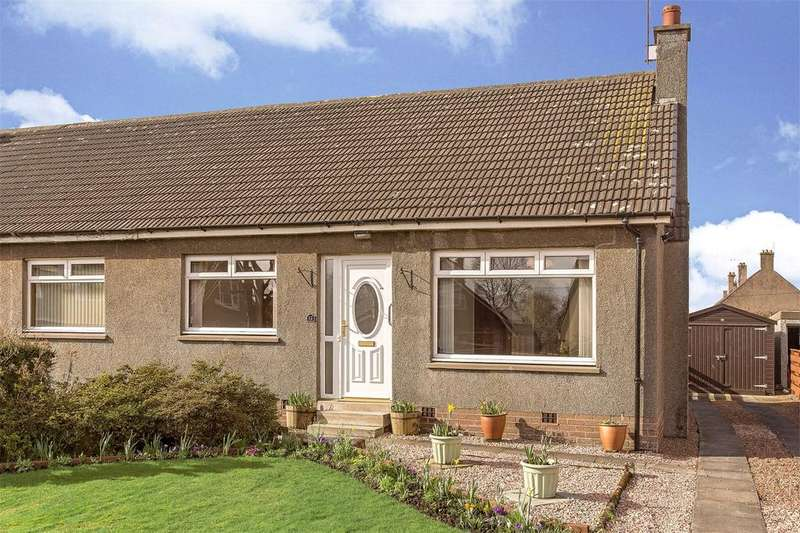 2 Bedrooms Semi Detached Bungalow for sale in Lesken, 12 Brown Avenue, Stirling, FK9