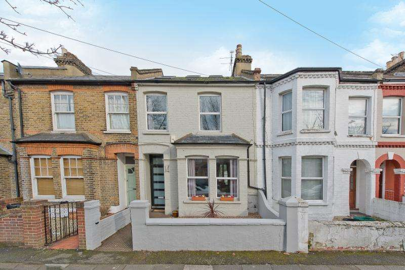 3 Bedrooms Terraced House for sale in Victory Road, London, SW19