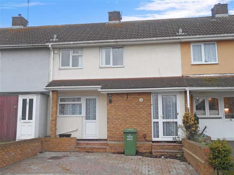 2 Bedrooms Terraced House for sale in Quilters Straight, Basildon, Essex