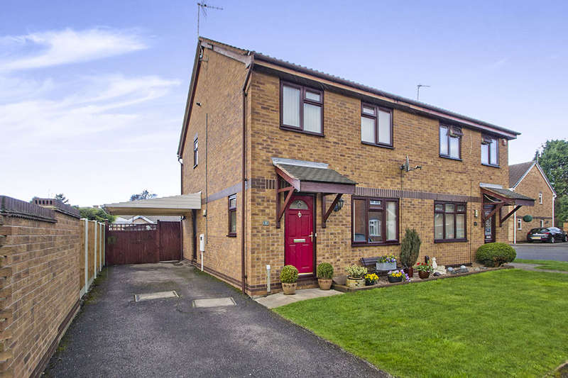 3 Bedrooms Semi Detached House for sale in Eliot Close, Long Eaton, Nottingham, NG10