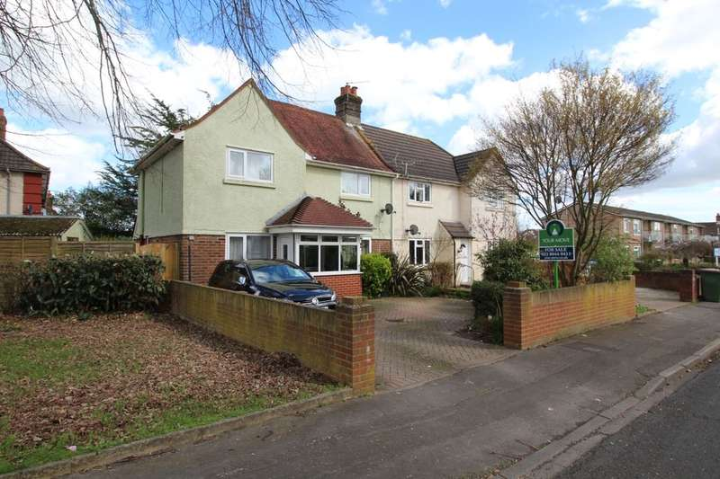 3 Bedrooms Semi Detached House for sale in Bishops Crescent, Southampton, SO19