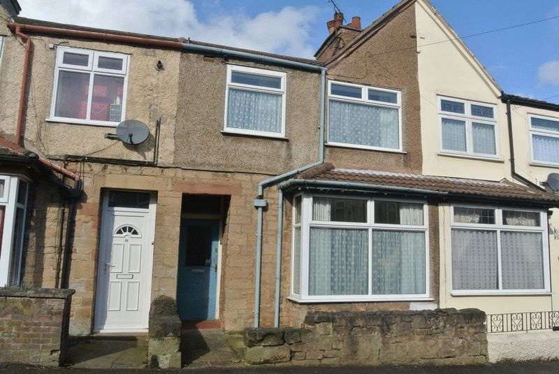 3 Bedrooms Terraced House for sale in Somersall Street, Mansfield, NG19 6EP