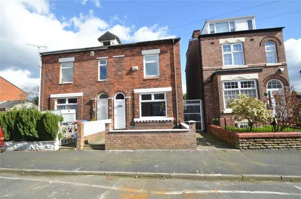 2 Bedrooms Semi Detached House for sale in Florist Street, Shaw Heath, Stockport, Cheshire