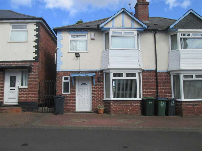 3 Bedrooms Semi Detached House for sale in Marion Road, Smethwick