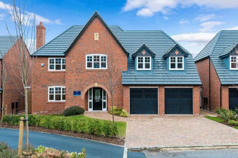 5 Bedrooms Detached House for sale in Convent Close, Roby Mill