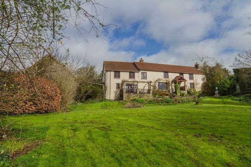4 Bedrooms Detached House for sale in Sharland Farmhouse, Morchard Bishop