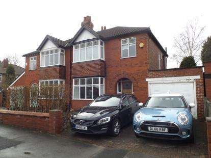 3 Bedrooms Semi Detached House for sale in Stainburne Road, Offerton, Stockport, Cheshire
