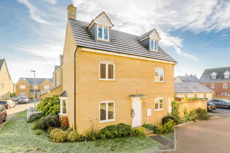 4 Bedrooms Detached House for sale in Oberon Way, Oxley Park