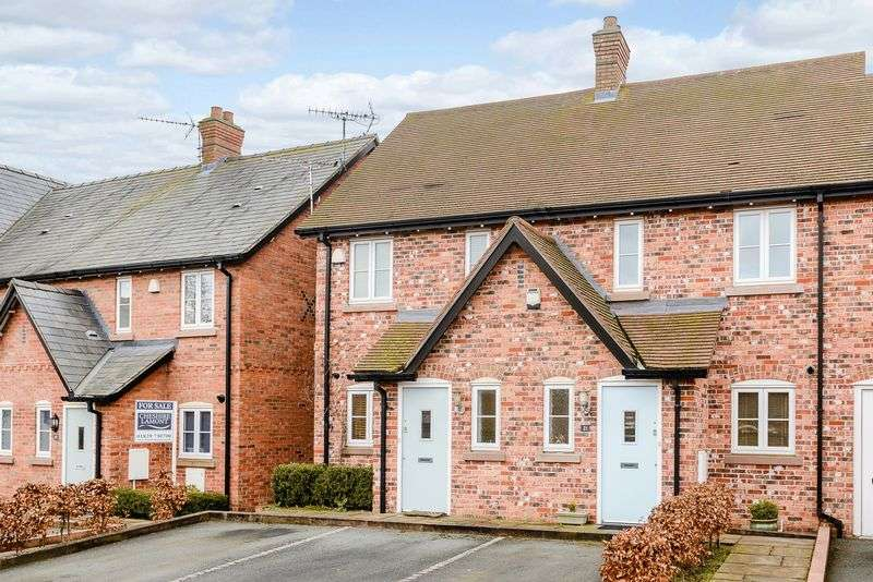 2 Bedrooms Terraced House for sale in Brereton Close, Tarvin
