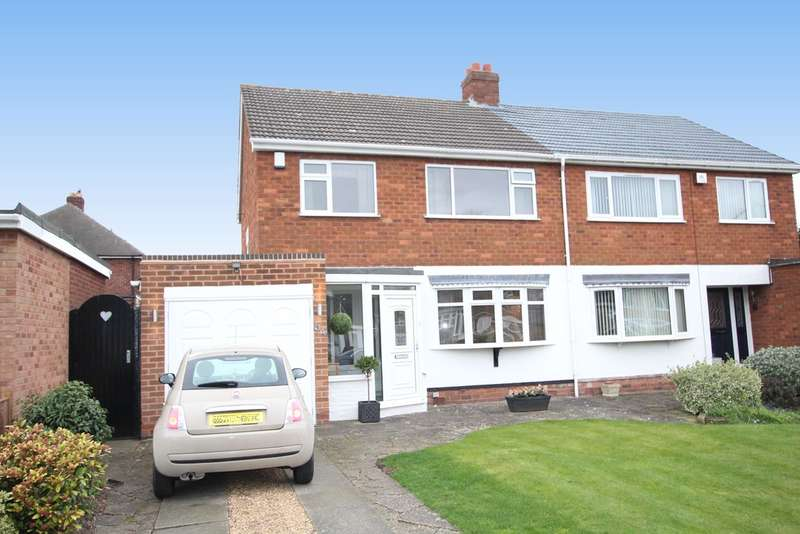3 Bedrooms Semi Detached House for sale in Stirling Road, Sutton Coldfield, B73 6PS