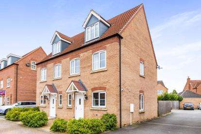 3 Bedrooms Semi Detached House for sale in Florin Drive, Boston, Lincolnshire, England