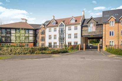 2 Bedrooms Flat for sale in Hermitage Court, Honeywell Close, Oadby, Leicester