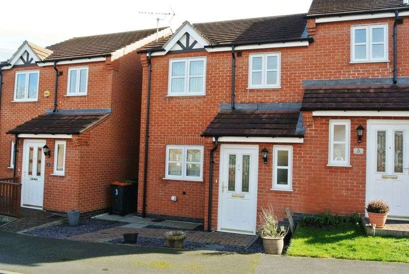 3 Bedrooms Semi Detached House for sale in Leander Close, Sutton-In-Ashfield