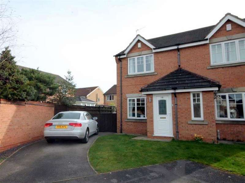 2 Bedrooms Semi Detached House for sale in Minchin Close, York, YO30 5GL