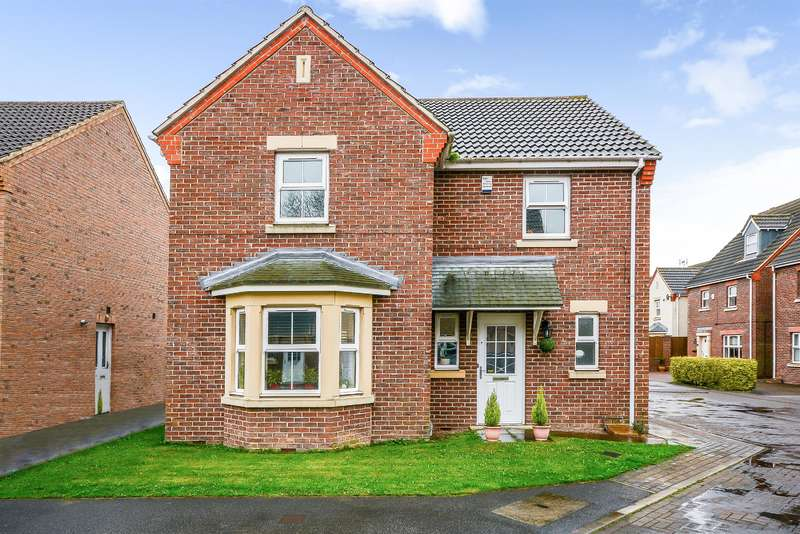 4 Bedrooms Detached House for sale in Kaye Drive, Osgodby, Selby, YO8 5ZY