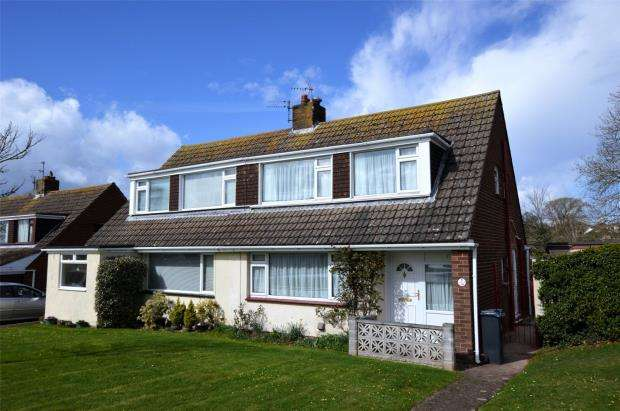 3 Bedrooms Semi Detached House for sale in Nutbrook, Exmouth, Devon